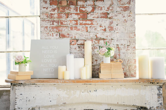 neutral wedding inspiration