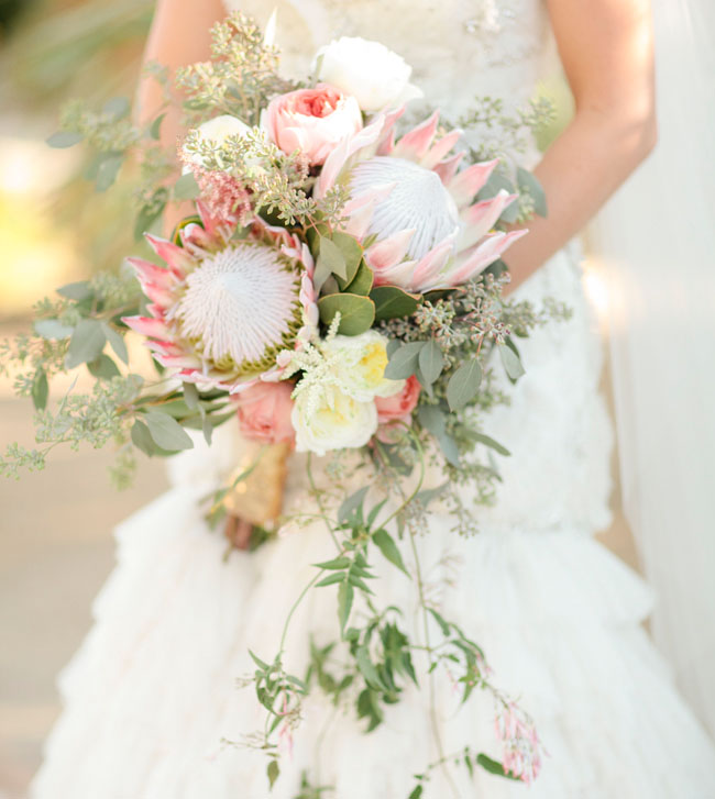 Wedding Flowers By Season 3 Fabulous palm springs protea bouquet