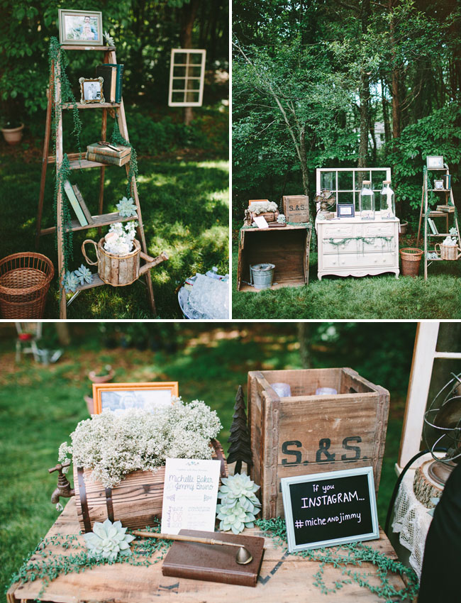 vintage rustic decor