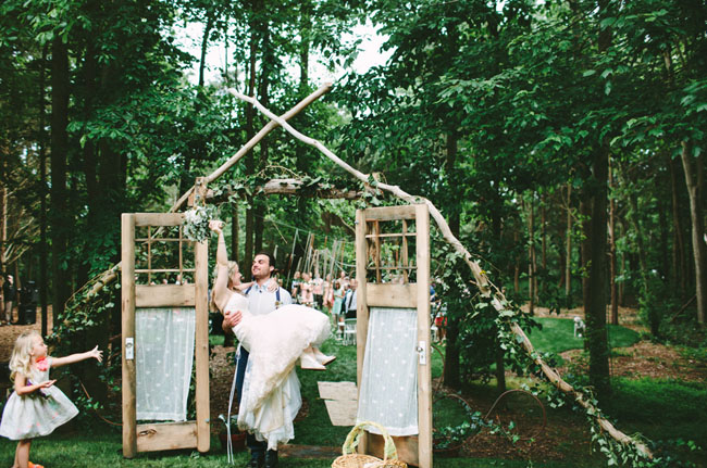Chapel In The Woods Ceremony