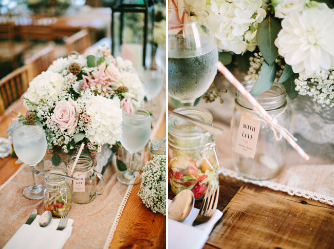 Rustic Chic Backyard Wedding Michelle Jimmy