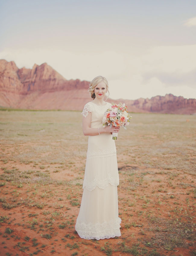 red rock bride