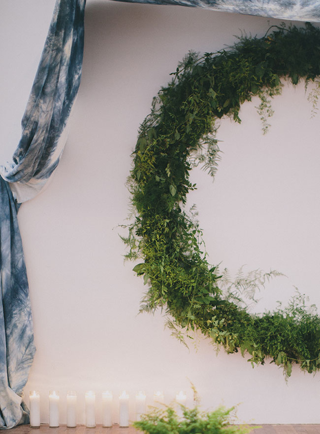 green circle wreath