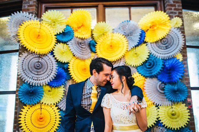 Colorful Homespun Atlanta Wedding: Sara + Blake