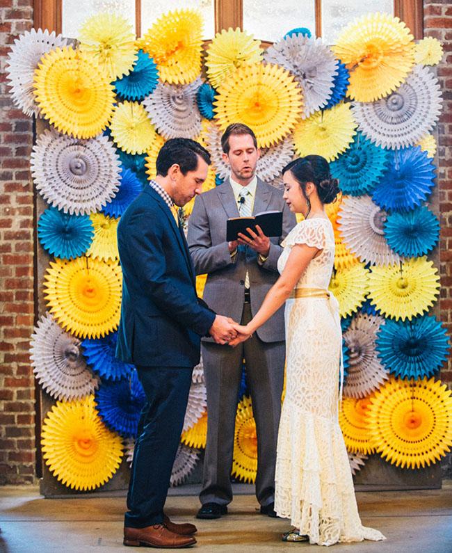 pinwheel ceremony backdrop