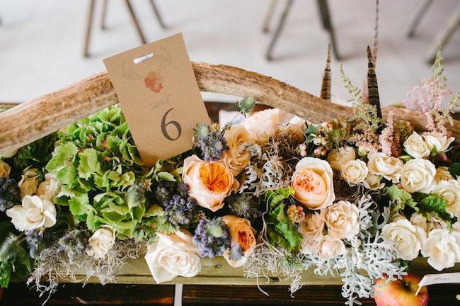 rustic florals
