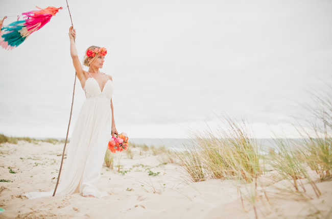 surf inspired bride