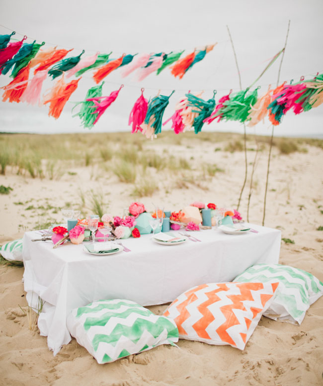 surf inspired wedding