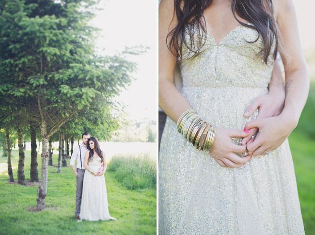 bohemian glam dress