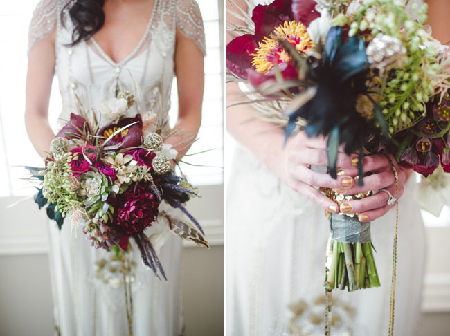 20s inspired bouquet