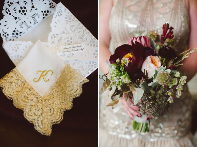 Gold Lace Napkin
