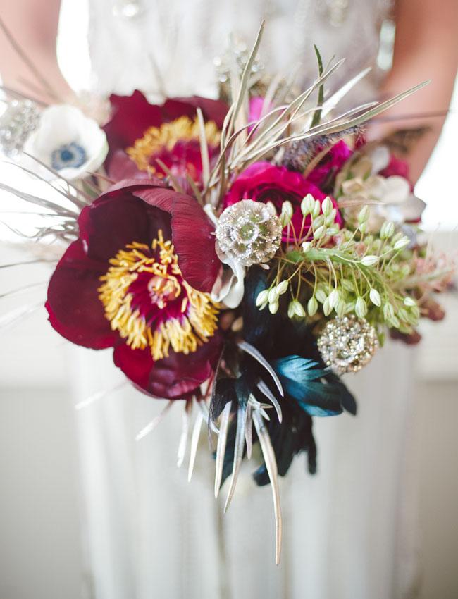 20s wedding bouquet