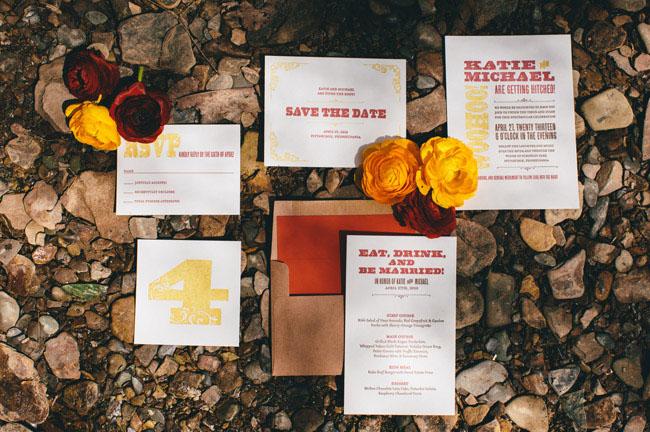 forest inspiration invitation