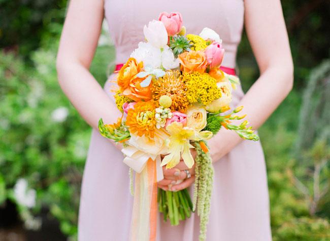greenhouse engagement bouquet