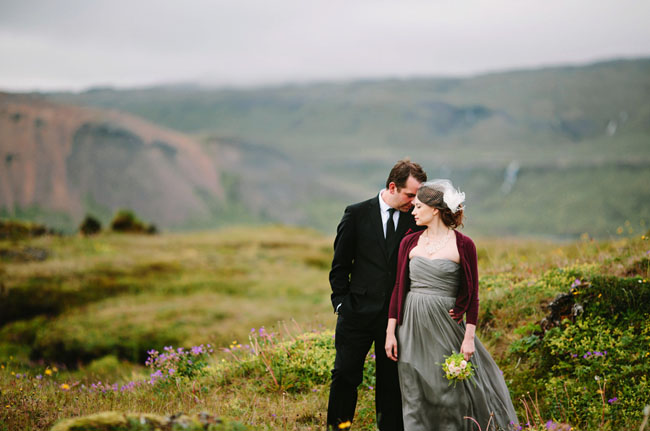 Idyllic Iceland Wedding Brandy Justin