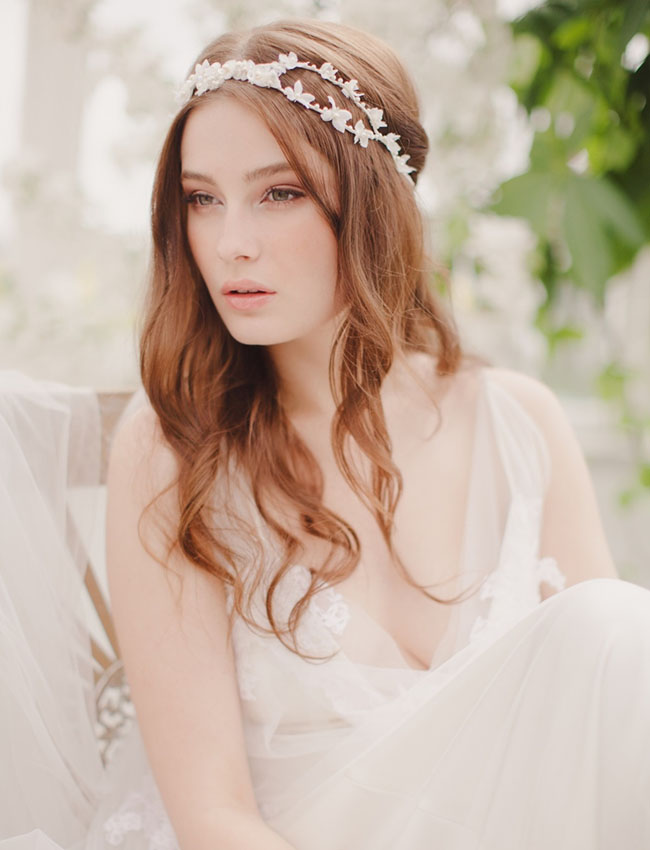 bridal head wrap