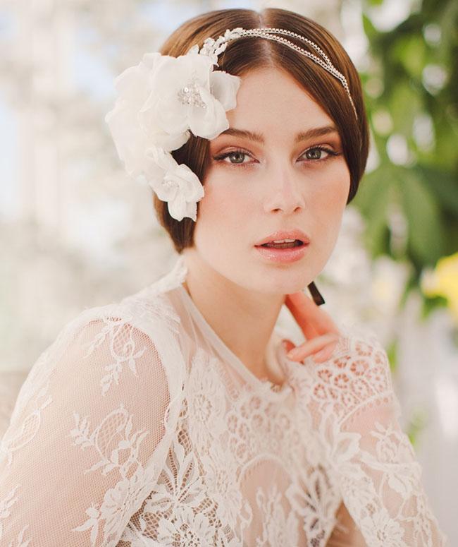bridal hair piece