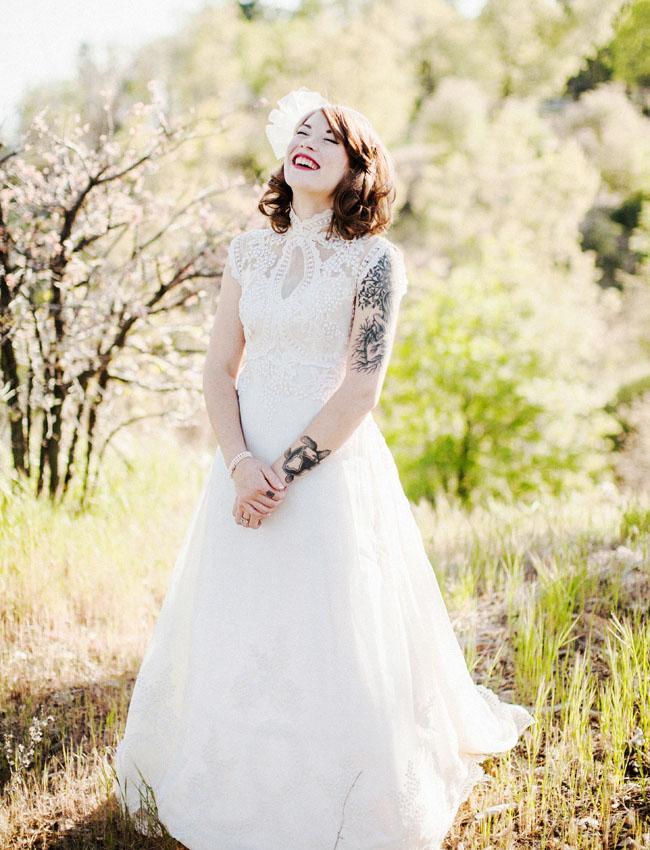 vintage arrowhead bride