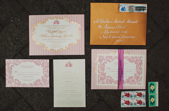 new orleans wedding invitation - New Orleans Wedding Invitations