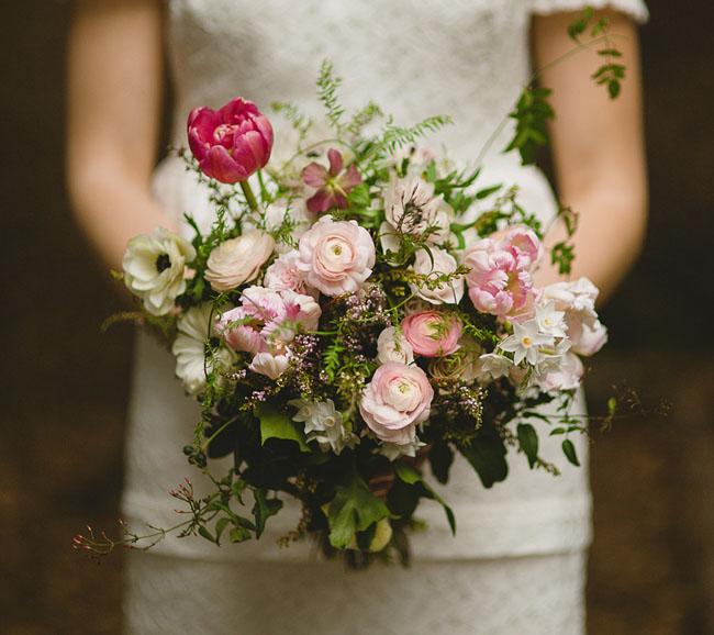 new zealand romantic bouquet
