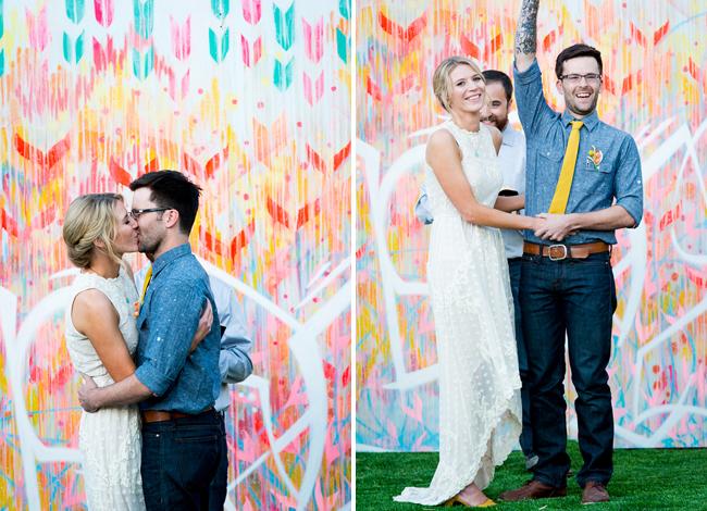 Artist wedding