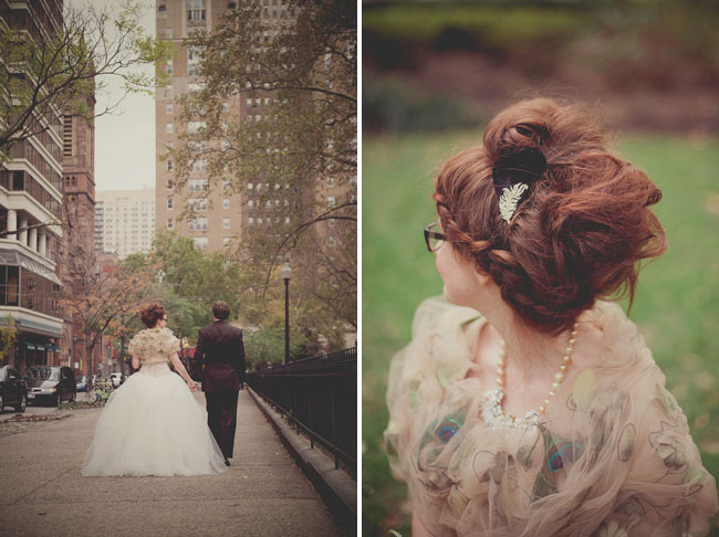 bridal capulet