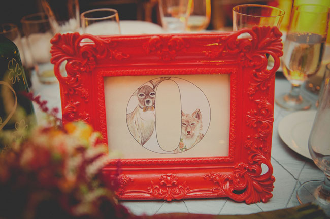 fox table numbers