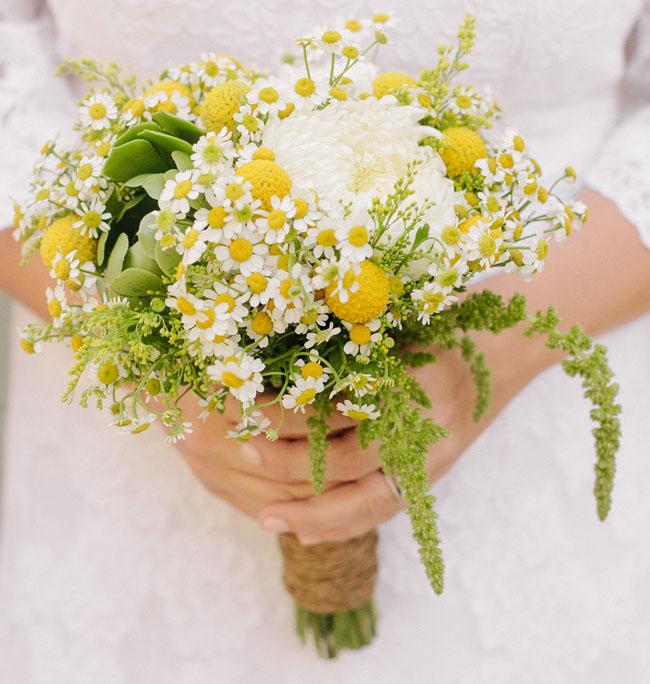 picnic wedding bouquet