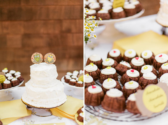 picnic wedding sweets