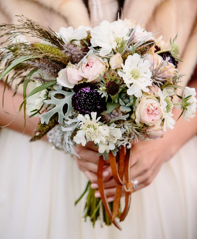 pie ranch leather bouquet