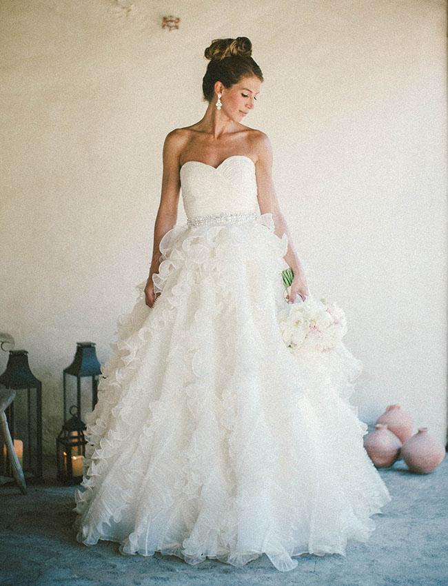 top knot bride