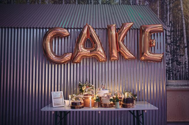 UK cake dessert bar