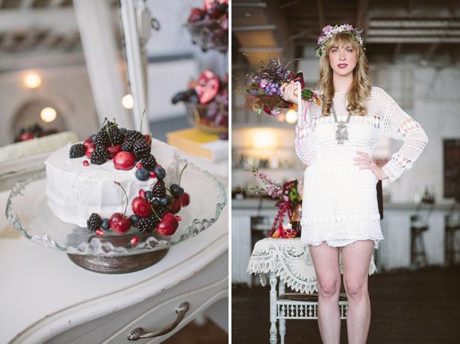 velvet bohemian fruit cake