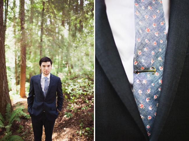woodland groom