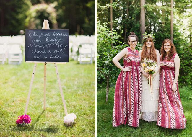 pattern bridesmaids