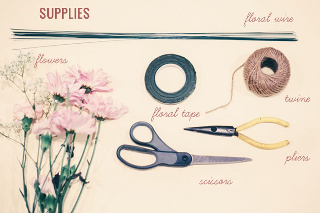 DIY_floral_necklace_materials