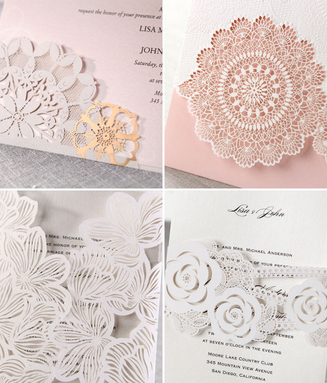 Laser cut wedding invitations from b wedding invitations laser cutweddinginvitations06 solutioingenieria Gallery