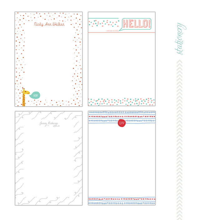 Paper Muse Press Notecards