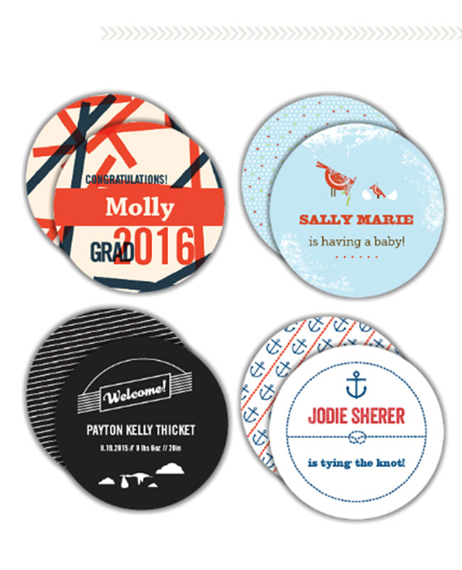 Paper Muse Press Coasters
