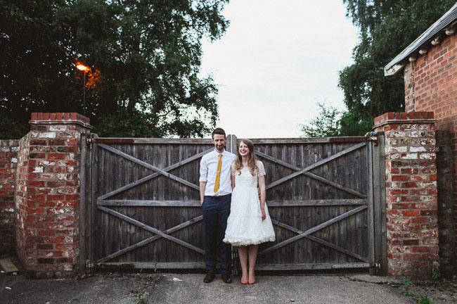 UK barn wedding