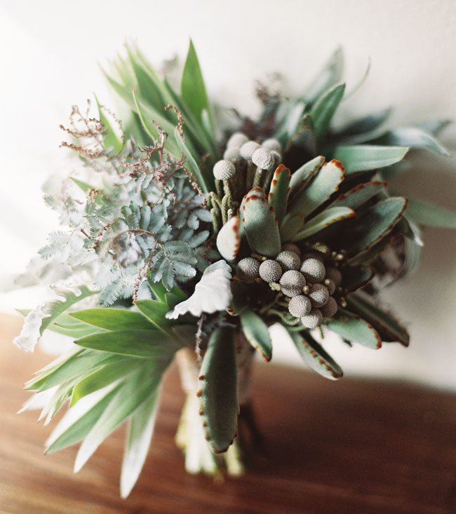 green malibu bouquet