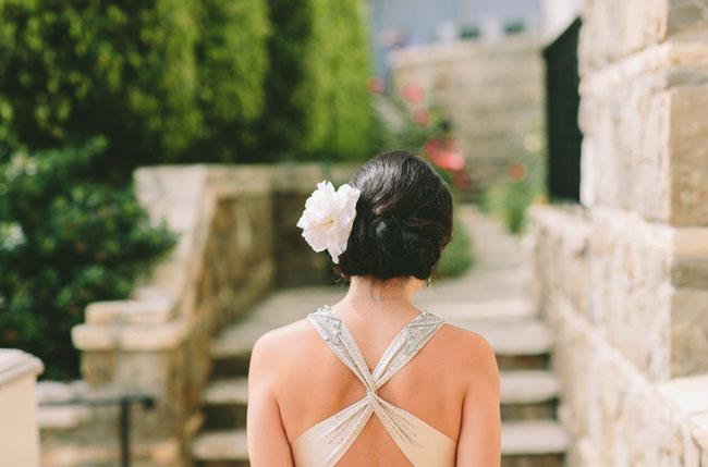 back detailing of dress