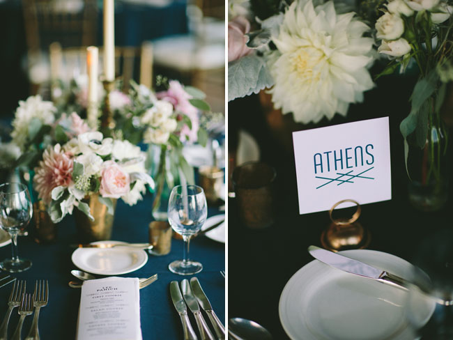 city table numbers