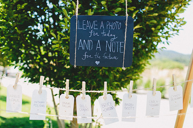 leave a note