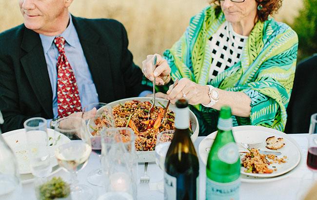 foodie wedding