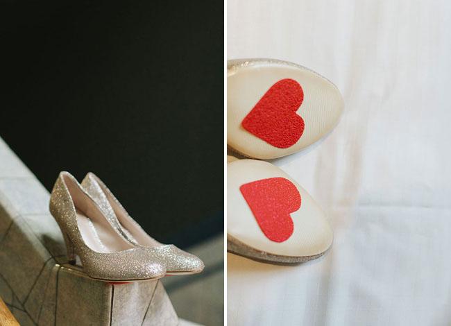 heart sole heels