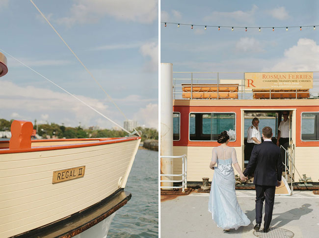 boat wedding
