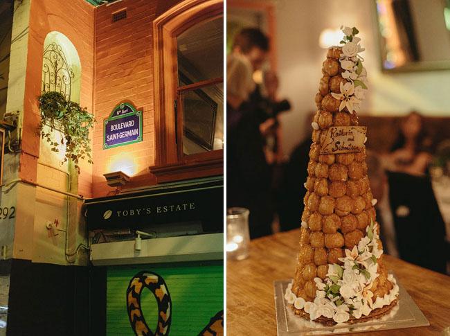 dessert tower