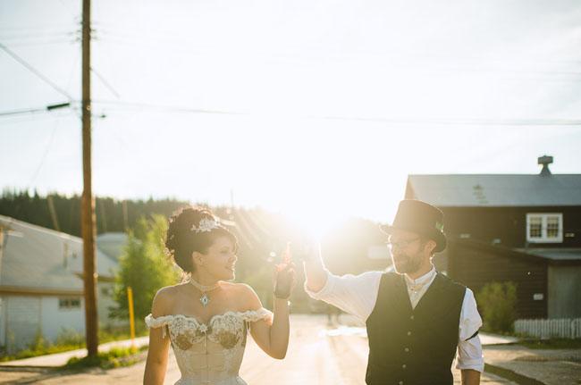 klondike bride and groom