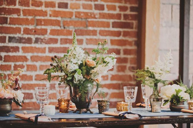 vintage vase flower pieces